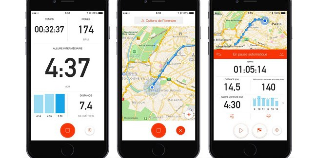 Application Strava - Calendovia