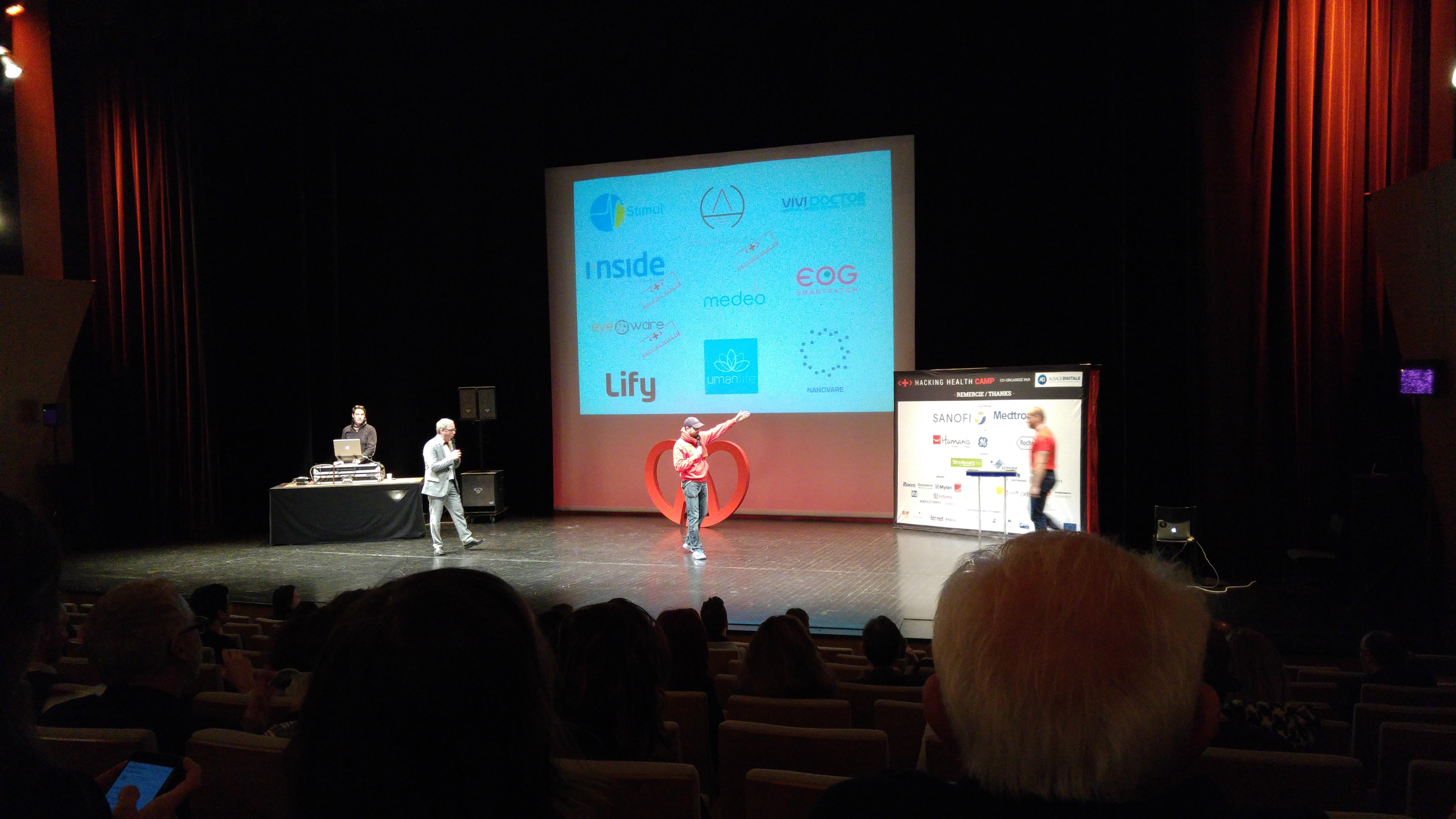 Startups Pitches au HHCamp Strasbourg