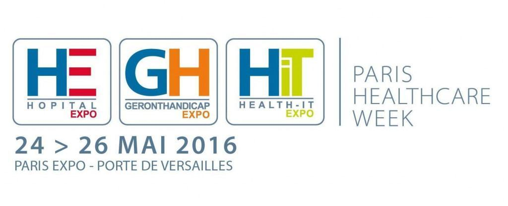 Logo PARIS HEALTHCARE WEEK 2016