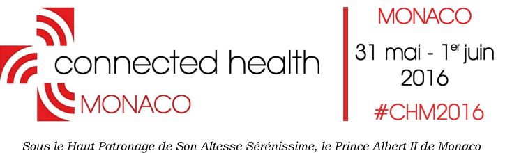 Logo Connected Health Monaco 2016 sur Calendovia