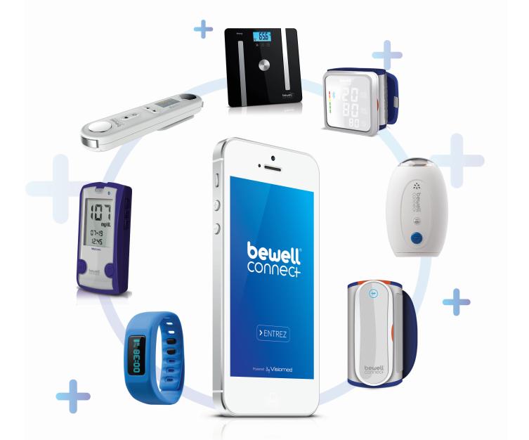 Visiomed Bewell Connect - Gamme objets connecté santé e-santé Calendovia