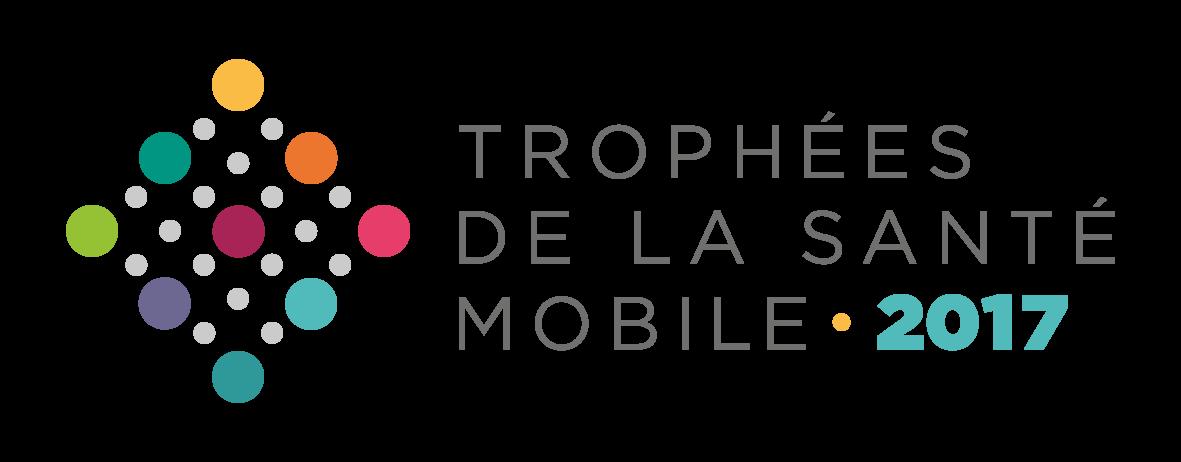 Logo Trophées de la santé mobile 2017