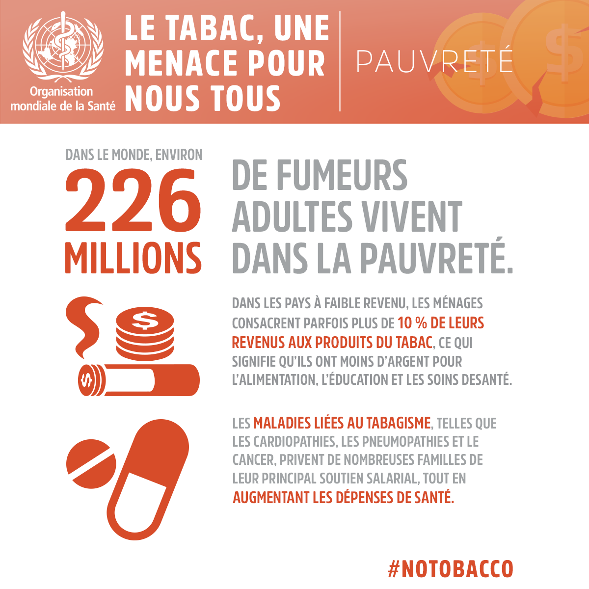 Infographie Journée Mondiale sans tabac 2017 - Calendovia